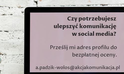 audyt komunikacji social media akcja komunikacja