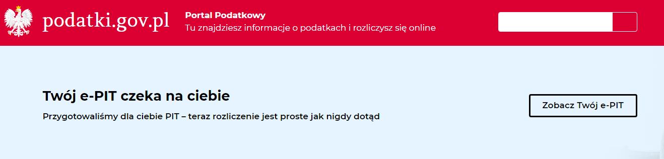 użyteczność strony www.podatki.gov.pl hasło